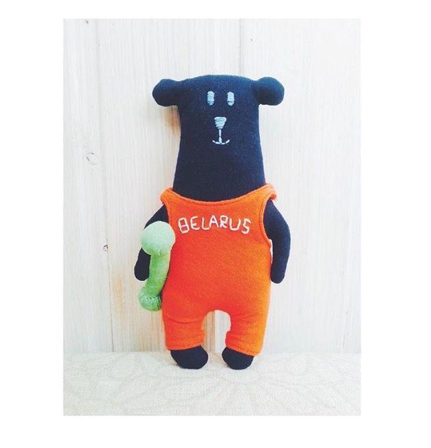 Bear handmade by Vitalina Yazykova