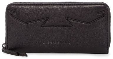 Liebeskind Berlin Geometric Quilted Leather Wallet