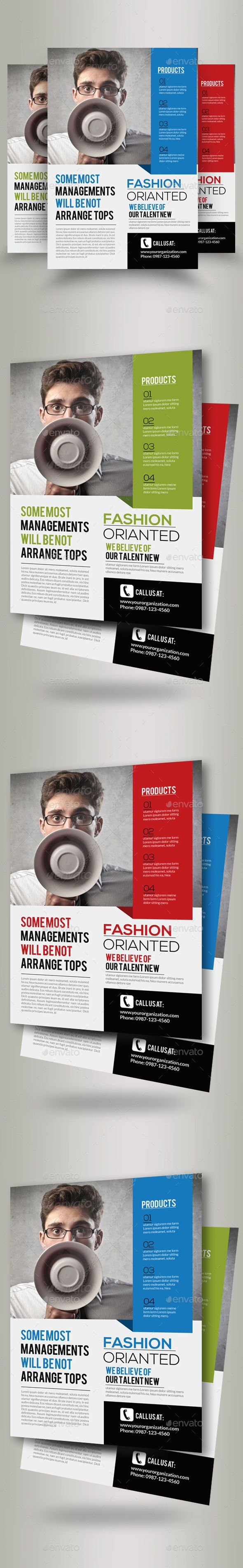Business Marketing Consultant Flyer Template PSD