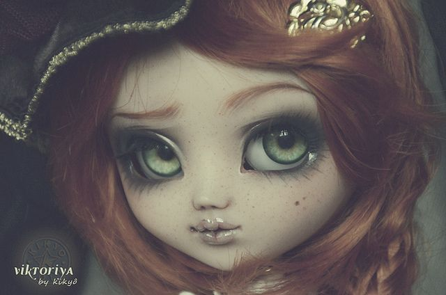 [Pullip Custom] Close-up Vintage by Kikyô ★⋆*· (busy- I don't take order), via Flickr