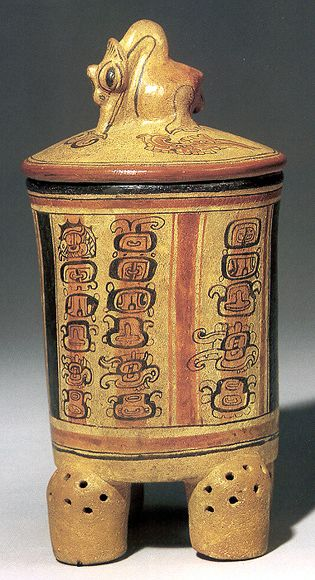 A vessel from Tikal