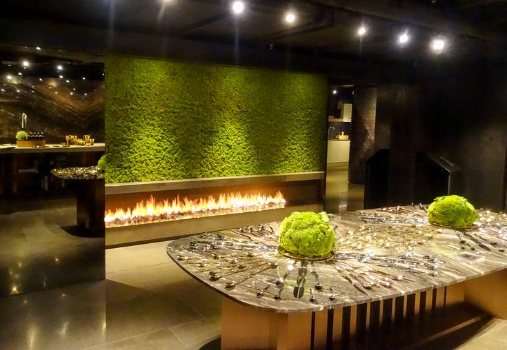 Remotely controlled FLA ‪#‎fireplace‬ from Planika, Essere Group's showroom, Hong Kong
