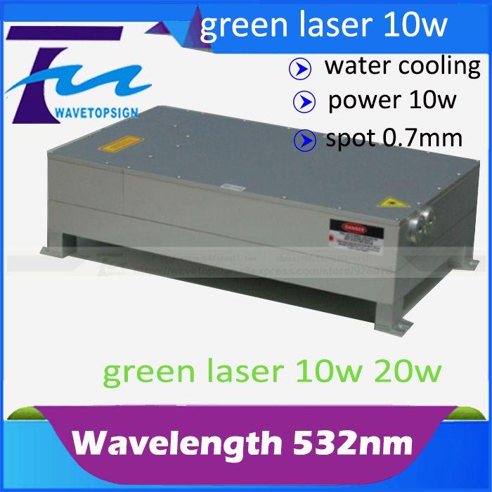 532nm laser module 10w green laser <font><b>Super</b></font> Pulse-532-10 laser mark machine use