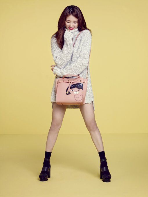 Miss A's Suzy Endorses Beanpole Accessories with KakaoTalk Emoticons | Koogle TV