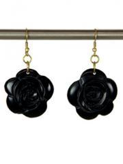 Resin Flower Earrings - Safade