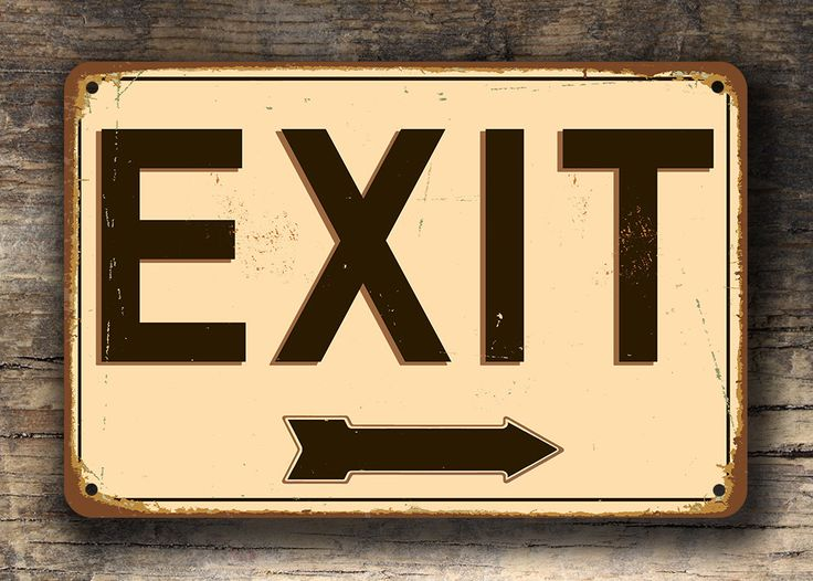17 best ideas about exit sign depth of field exit sign exit signs vintage style exit sign custom signs exit sign