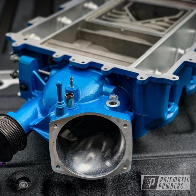 Prismatic Powders Blue Ported Lsa Supercharger Supercharger Valve Cover Turbo Intercooler