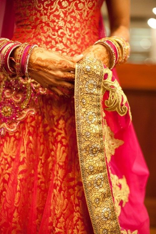 Indian Fashion Scrapbook - new pink and orange obsession!