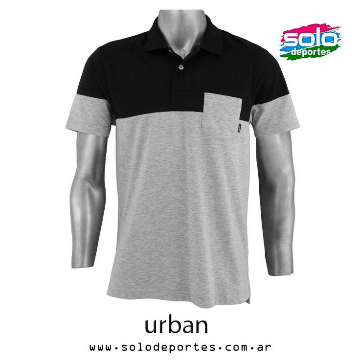 Polo Pocket Jersey Negro/Gris  Marca: Nike 510020533184063   $ 329,00 (U$S 57,71)
