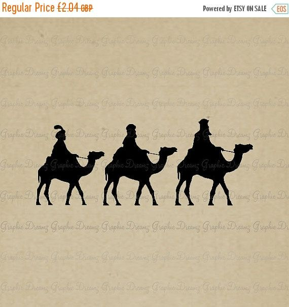 ON SALE 55% OFF Wisemen  Km2053  Digital image by GraphicDreamz