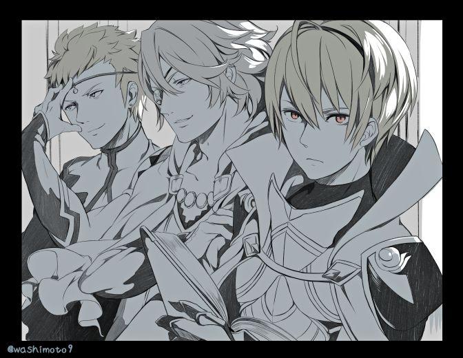 Fire Emblem: If/Fates - Leon, Odin and Zero