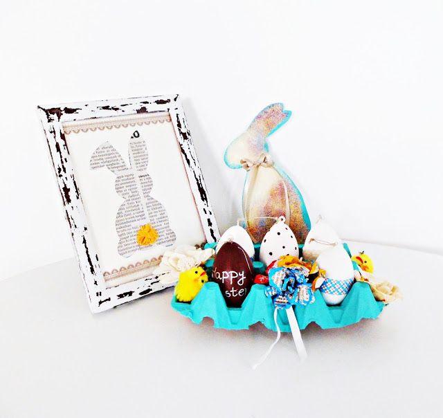 NB Kreatív Manufaktúra: Húsvéti tojástartó