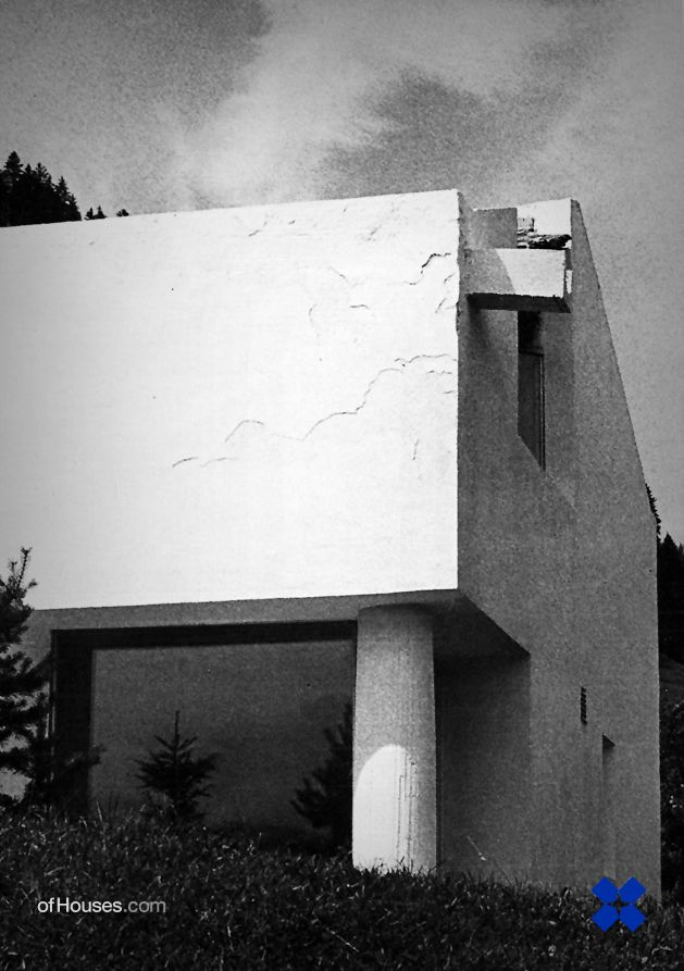 : 136. Rudolf Olgiati /// Van der Ploeg House ///...