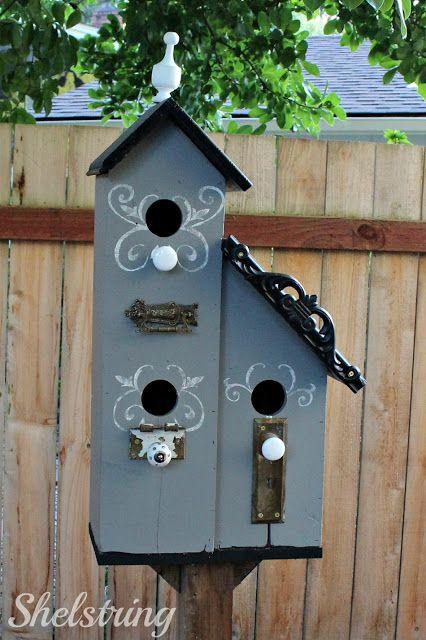 shelstring blog: Townhouse Birdhouse