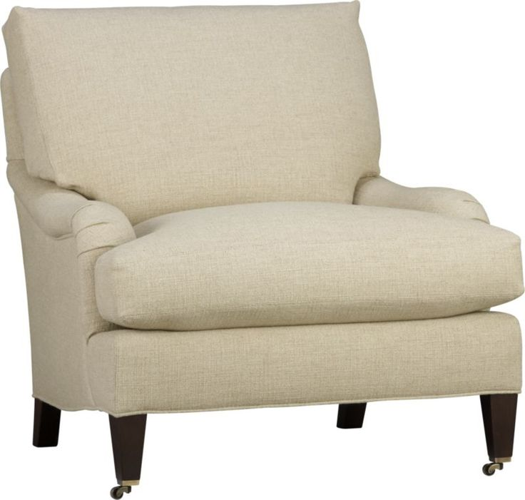 Essex Chair with Casters  | Crate and Barrel