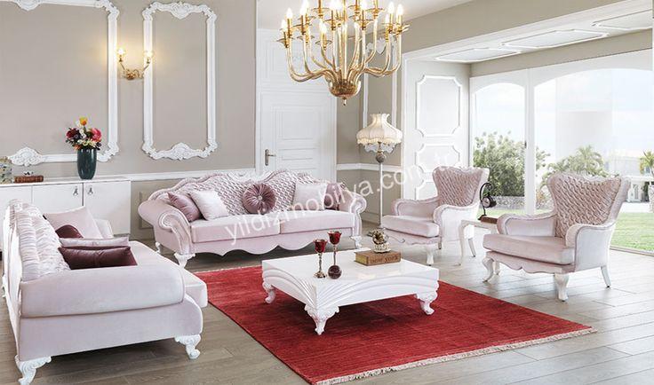 Mira Avangarde Salon Takımı #moda #kadın #pinterest #popüler #evdekorasyon #herşey #koltuk #trend #sofa #avangarde #yildizmobilya #furniture #room #home #ev #white #decoration #sehpa #moda http://www.yildizmobilya.com.tr/