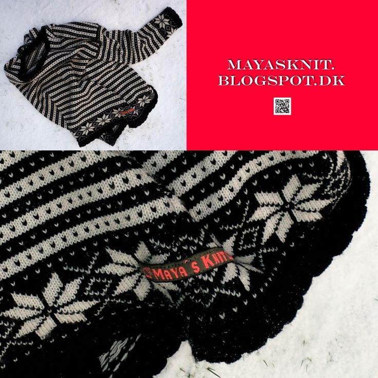Nordic knitting. A Fana shirt (Norwegian)