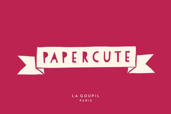 PaperCute Font Pack by La Goupil Paris on Creative Market