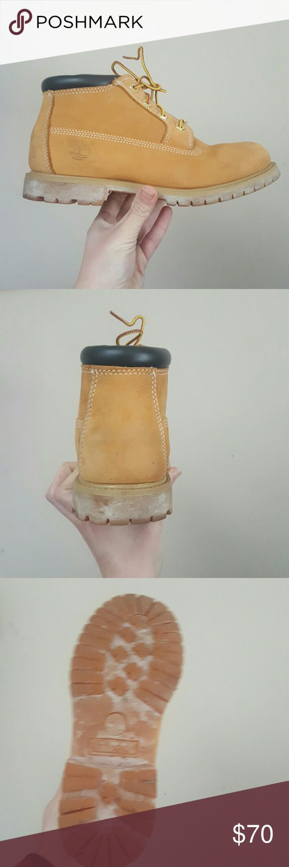 Timberland Nellie Chukka Wheat 8.5 TIMBERLAND 8.5 WORN 5 TIMES GREAT SHAPE Pretty clean Versatile and comfortable Classic and on trend A brand you can count on Timberland Shoes Winter & Rain Boots