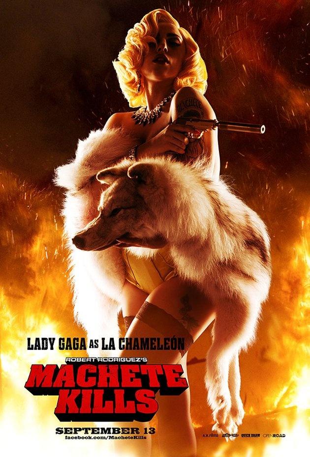 'Machete Kills' Movie Stills  Starring Danny Trejo, Sofia Vergara and Mel Gibson.