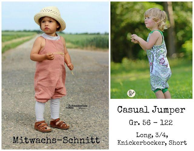 Schneiderline - Nähen für Minis & More: Ebook-Veröffentlichung Casual Jumper