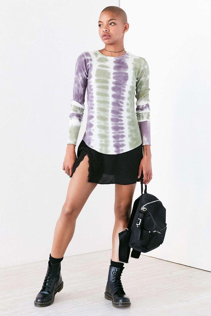 BDG Rhiannon Tie-Dye Long-Sleeve Tee - Urban Outfitters