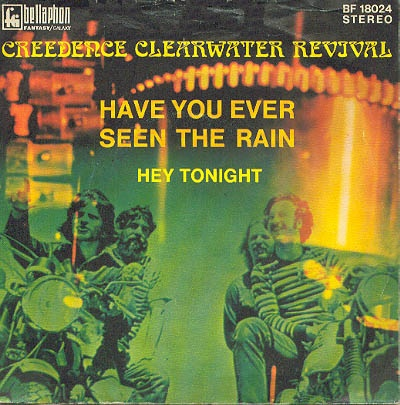 """CCR, classic... """"have you ever seen the rain"""" """"hey tonight"""" """"proud mary"""" """"down on the corner"""" so many great songs!"""