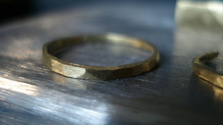High-quality brass rings, selfmade