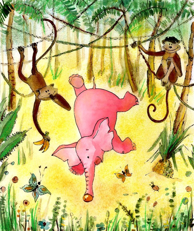 When the elephants were pink 11
