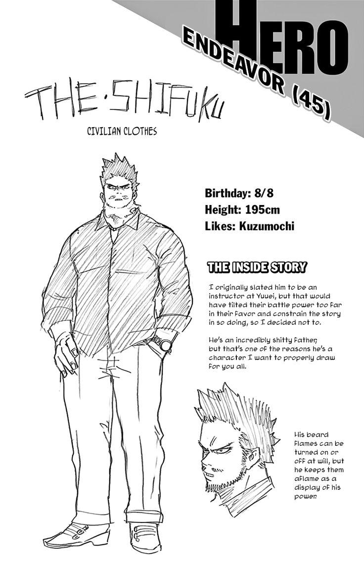 Character info: Endeavor