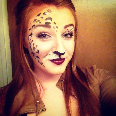 13 best Cheetah makeup images on Pinterest | Cheetah makeup ...