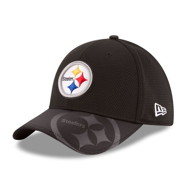 Pittsburgh Steelers New Era Official 2016 Sideline 39THIRTY Flex Fit Hat