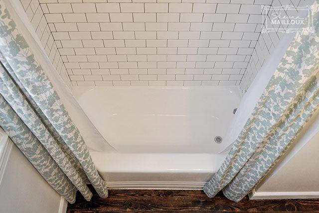 Double Shower Curtain   Beautiful Matters