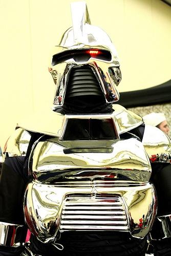 Battlestar Galactica Cylon at Hal-Con 2011