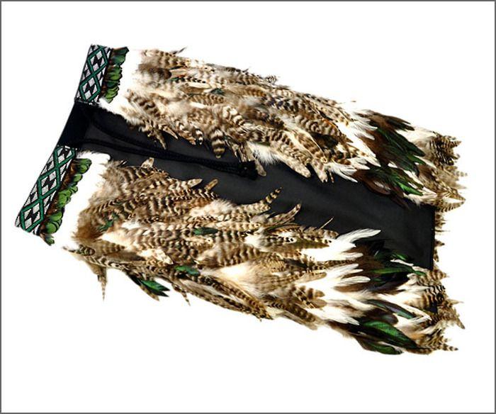 Maori korowai.