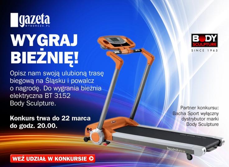 konkurs dla biegaczy Bacha Sport z Gazetą Wyborczą