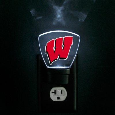 Wisconsin Badgers LED Nightlight.. We need this!