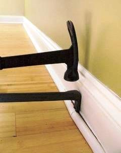 101 best images about diy molding trim wainscoting on pinterest hide wires how to remove and. Black Bedroom Furniture Sets. Home Design Ideas
