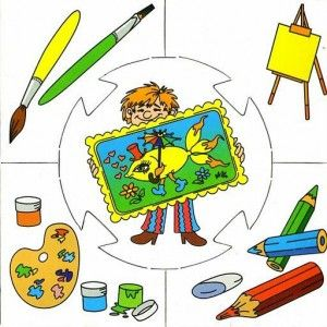 painter puzzle | Crafts and Worksheets for Preschool,Toddler and Kindergarten
