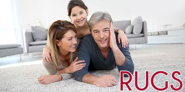 Make your home cozier with our large selection of rugs!