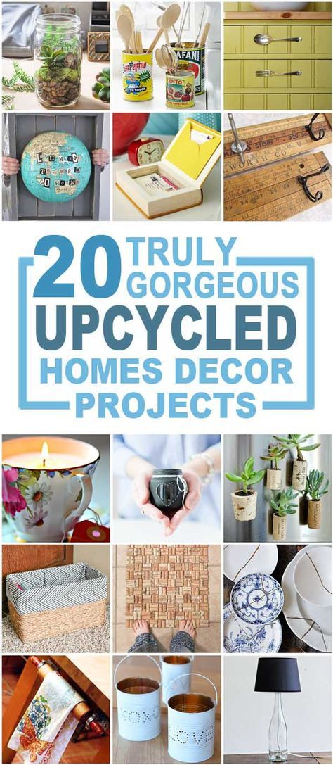 Recycle Home Decor Endearing Design Decoration