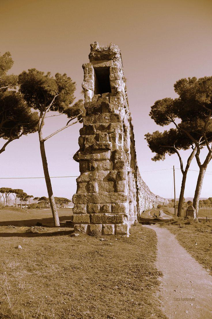 Roma - Appio Claudio, by Luca Parravano