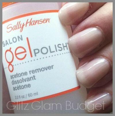 Sally Hansen Gel Nail Set Manicure Starter Kit
