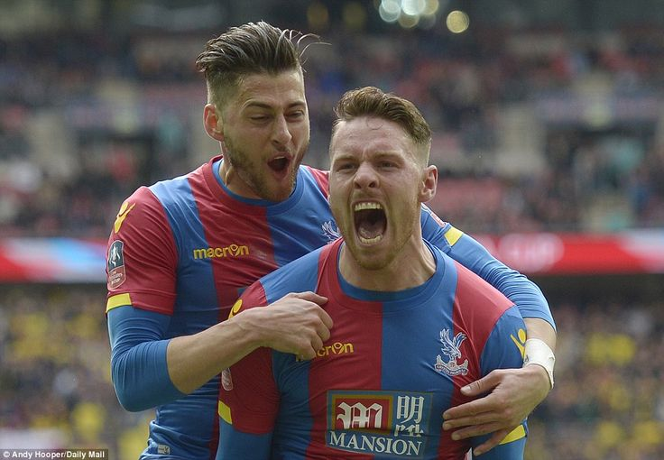 Crystal Palace 2-1 Watford: Conor Wickham heads the Eagles into their first FA Cup final since 1990 | Daily Mail Online