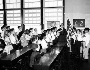 "In 1892, The Pledge of Allegiance Was Created By Francis Bellamy, An Editor For The Educational Publication, ""The Youth's Companion"" Who Wanted The Country's Public Schools To Commemorate That Year's Columbus Day. It Turned Into An Annual Columbus Day Tradition And Soon It Became A Daily Tradition."
