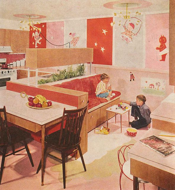 Retro Kitchen Design You Never Seen Before: 813 Best Images About Vintage Rooms On Pinterest