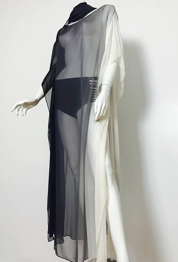 Kaftan cover up evening wear wedding resort dress silk