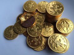 Chocolate Coins (10 Coins)