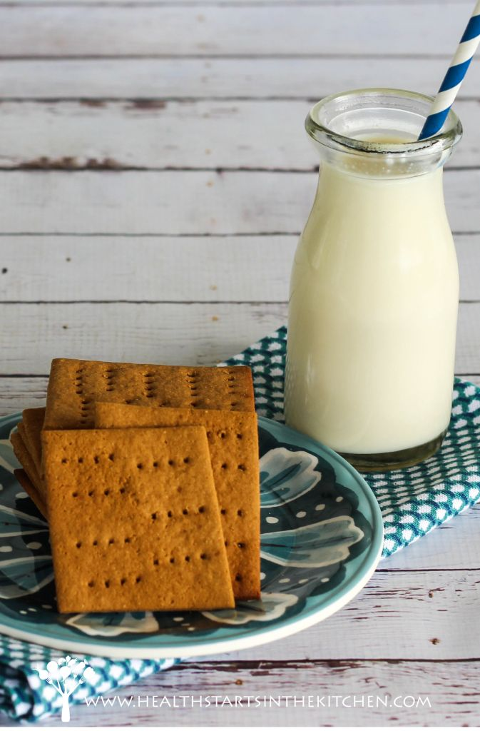 Homemade Grain, Gluten  Nut Free Graham Crackers (Paleo Friendly)