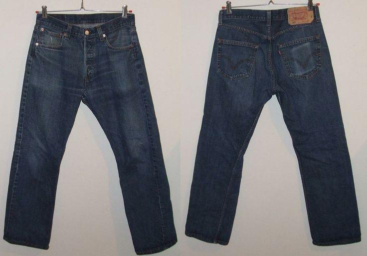 Kultowe spodnie Levis męskie model 501 r.W32 L30